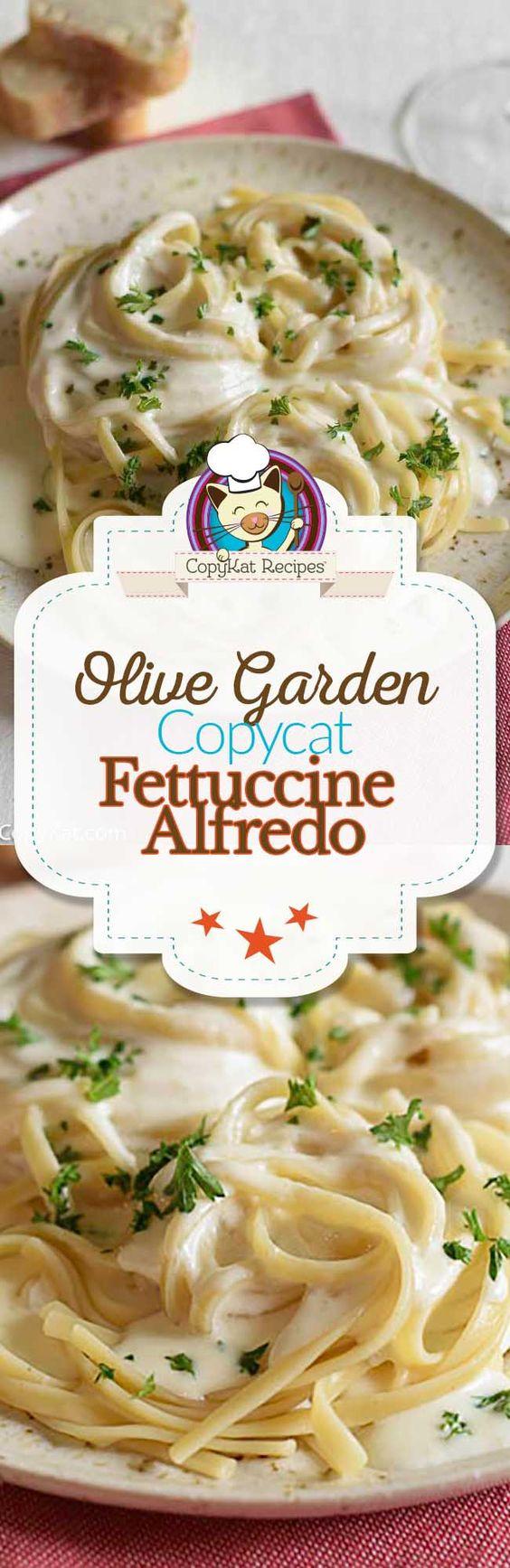 Olive Garden Alfredo Sauce | Recipe | Olive garden alfredo ...