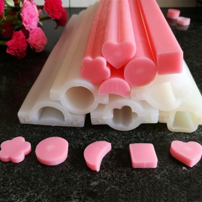 Round Craft Flower Silicone Soap Molds DIY Candle Making Mould Handmade Molds