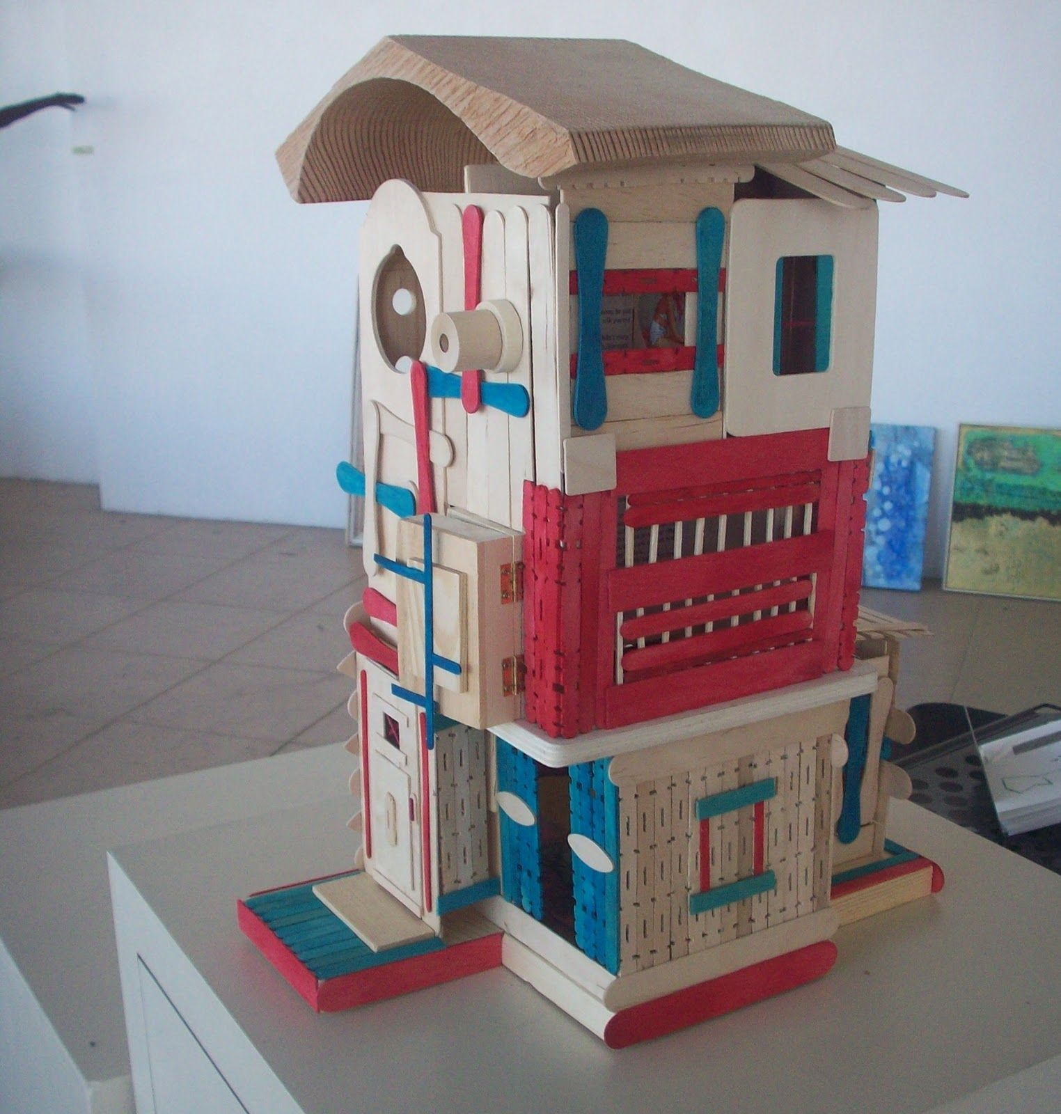 FORT FRIDAY - POPSICLE STICK EDITION | Popsicle stick houses, House ...