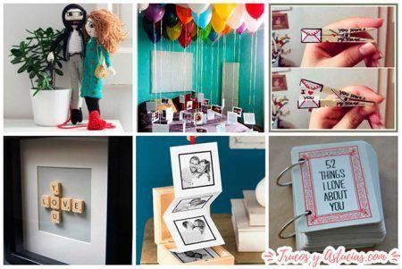 regalos para novio o novia con manualidades para regalar en san