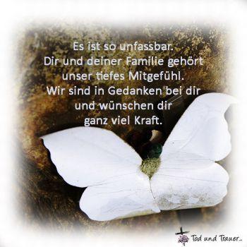Trauerkarte Tröstende Worte Trauer Sprüche Trauer Und