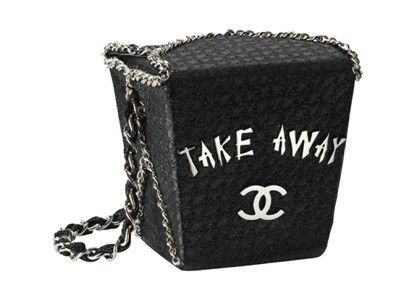 Swanky takeout - Chanel for Shanghai world expo