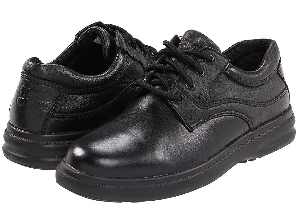 Hush Puppies Glen Black Leather Men S Lace Up Casual Shoes Stylish Lace Up Casual Comfort Shoe Exclusi In 2020 Shoes Black Leather Oxford Shoes Black Casual Shoes