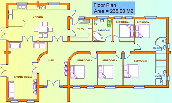 House Plans Ireland And Uk Bungalow Floor Plans New House Plans House Plans Uk