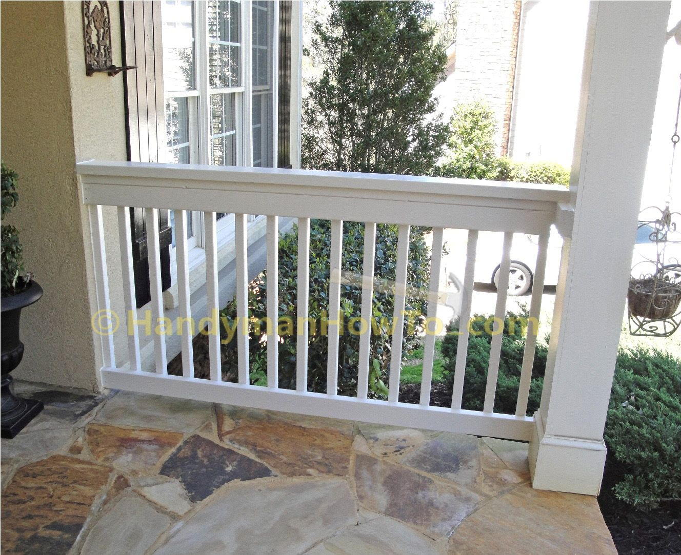 Best How To Build A 2X6 Porch Rail Final Assembly Diy Front 400 x 300