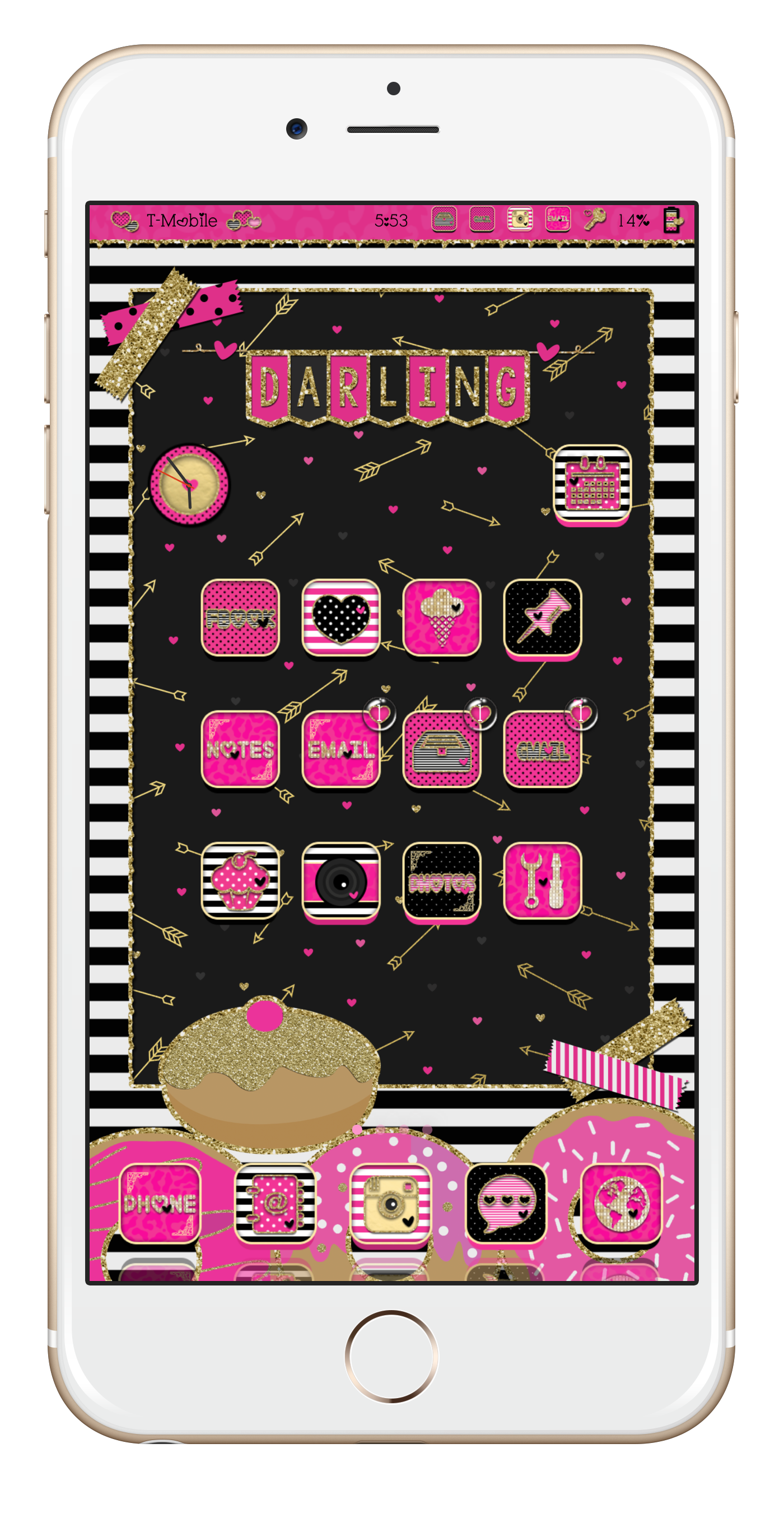 Pin by Darling on Jailbreak! in 2019 Phone themes