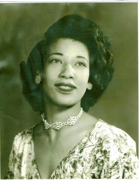 1950s Beautiful Black Woman Vintage Black Glamour
