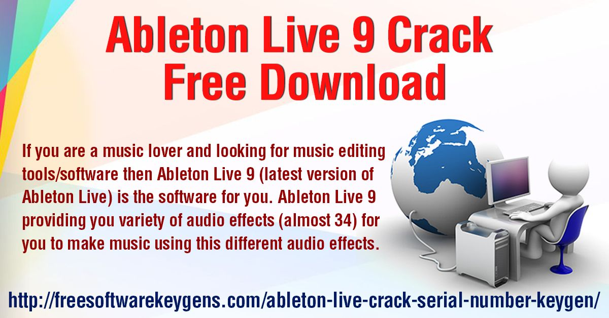 ableton live 9 cracked mac