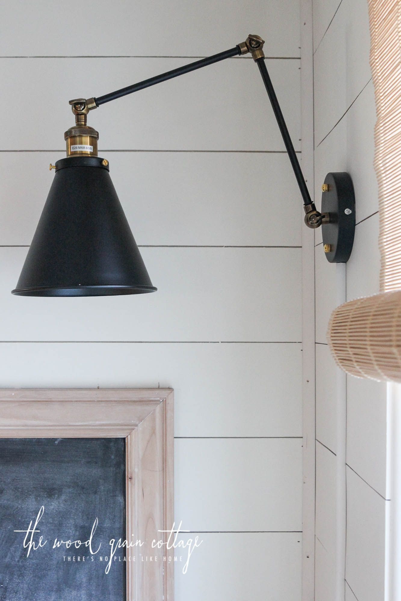 Wall Lights In The Breakfast Nook The Wood Grain Cottage Wall