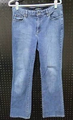 89c292dc4e7 DKNY Size 10 Designer Bootcut JEANS Denim Blue Ladies B232 ...