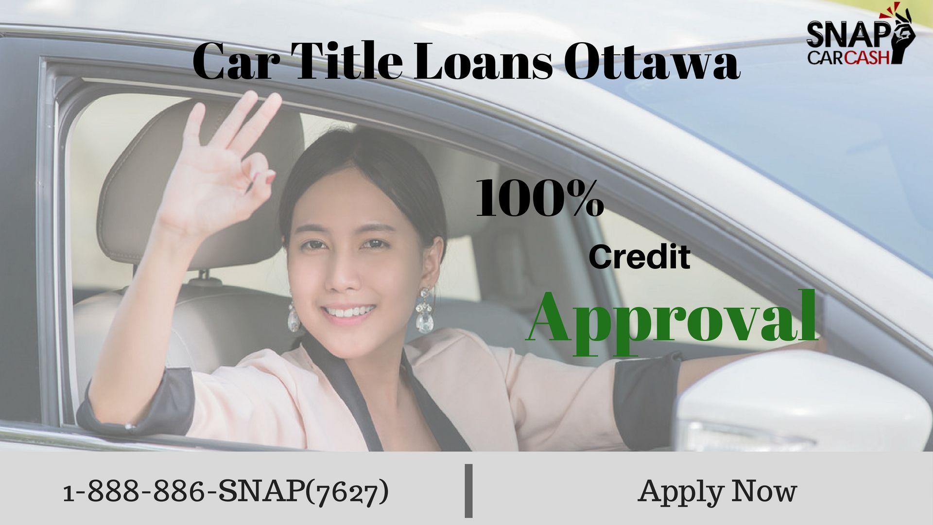 Car Title Loans in and around Ottawa Bad credit car loan