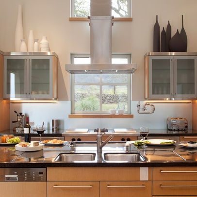Above Kitchen Cabinets Modern Decor With Images Kitchen