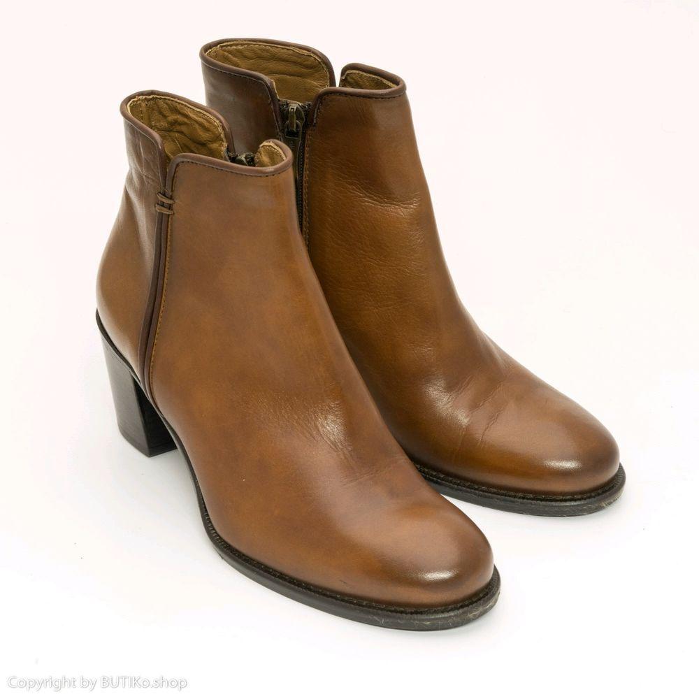 Schuhe Damen Grosse 37 Progetto Stiefeletten Boots Stiefeletten Leder