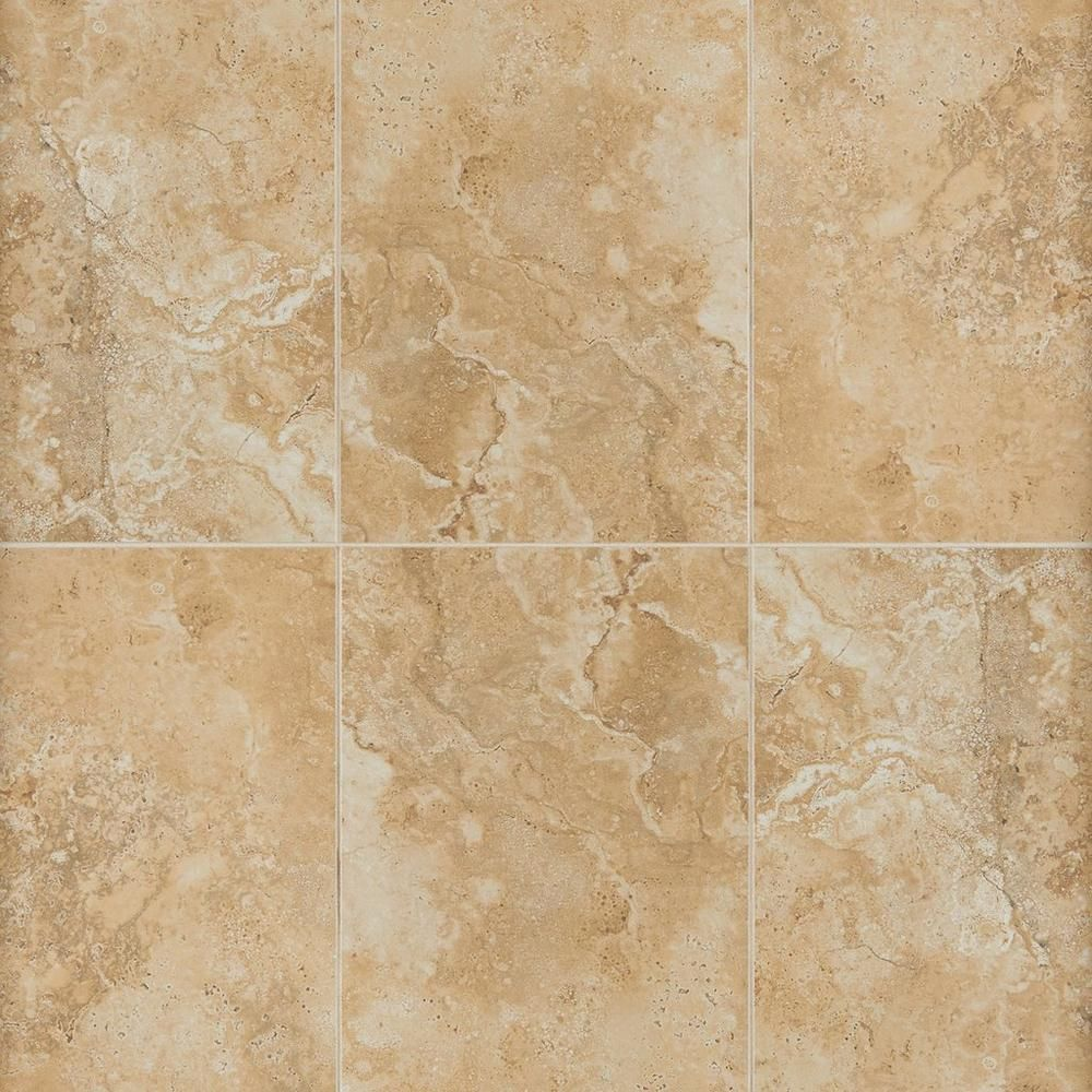 Floor And Tile Decor Woodbridge Tarsus Beige Polished Porcelain Tile  Porcelain Tile Porcelain