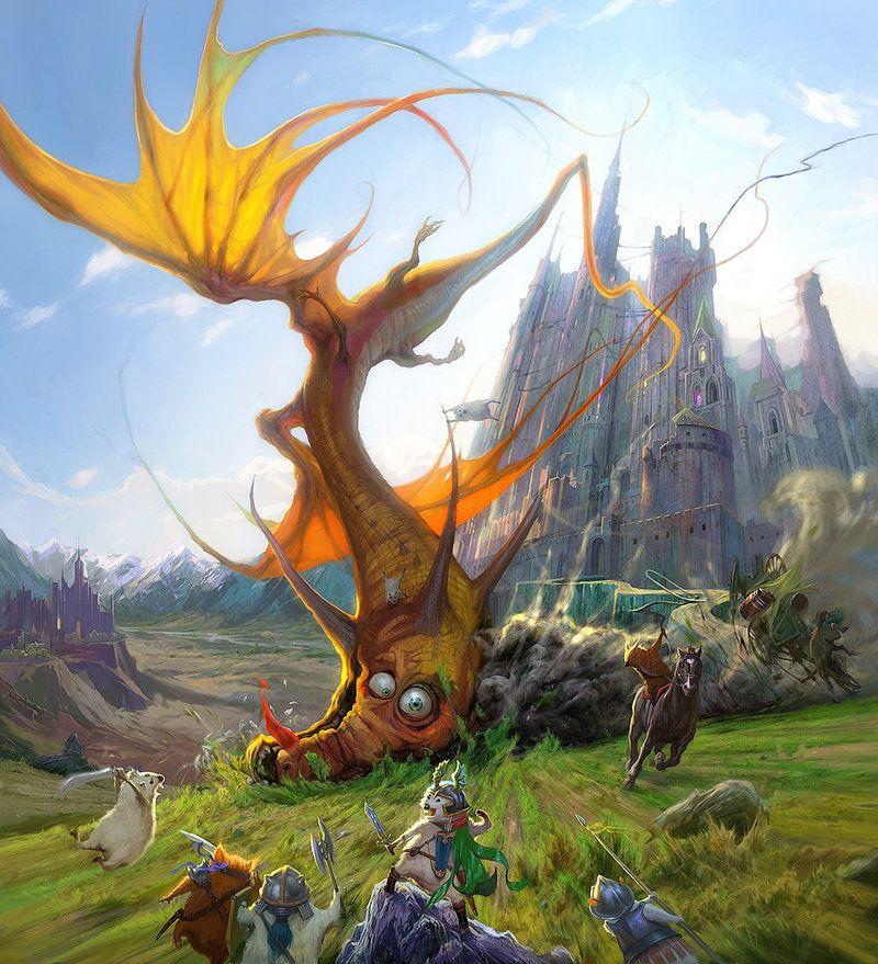 Dragon Crash by *Hamsterfly on deviantART