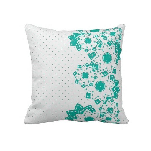 Pillow Polka Dot and Flowers  http://www.zazzle.com/pillow_polka_dot_and_flowers-189571166634560811