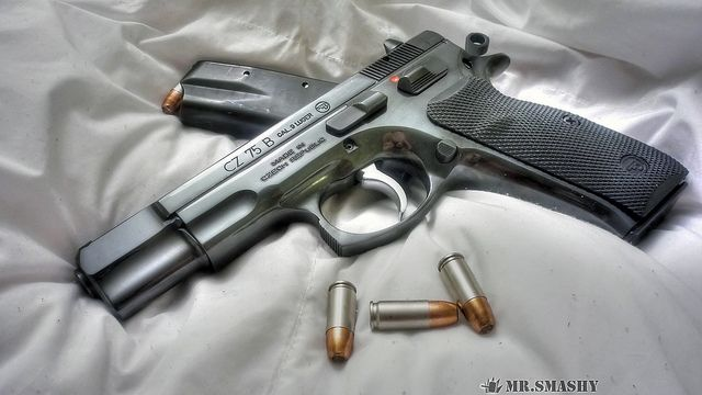 1 Cz 75 Sp01 Shadow Target Pistol HD Wallpapers | Backgrounds