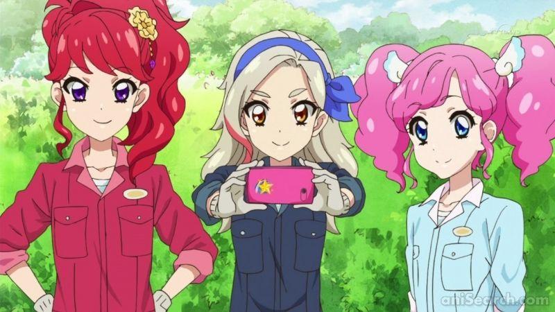 Juri Rin And Madoka Anime Shows Anime Character