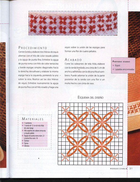 SOLO PATRONES DE BORDADO ESPAÑOL   Patrones de bordado, Es facil y ...