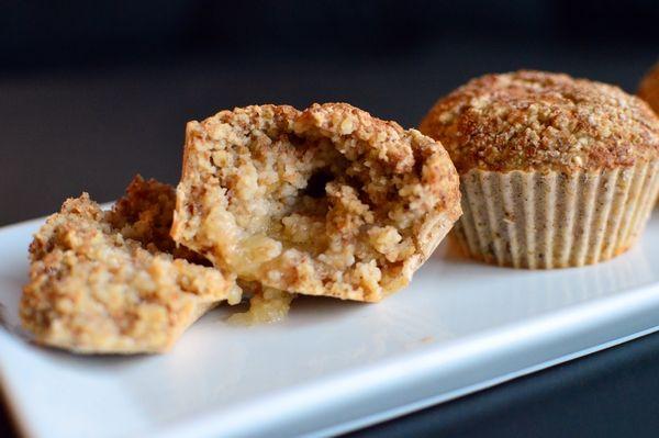 Havremuffins med en søt hemmelighet til frokost