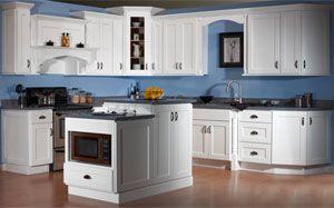 Discount Kitchen Cabinets In Cleveland Ohio Northeast Factory Direct Blue Kitchen Walls Kitchen Cabinet Remodel Kitchen Design
