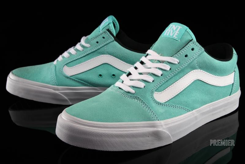 694bbeecb6 Vans TNT 5 - Seafoam (comes with matching seafoam-colored laces ...