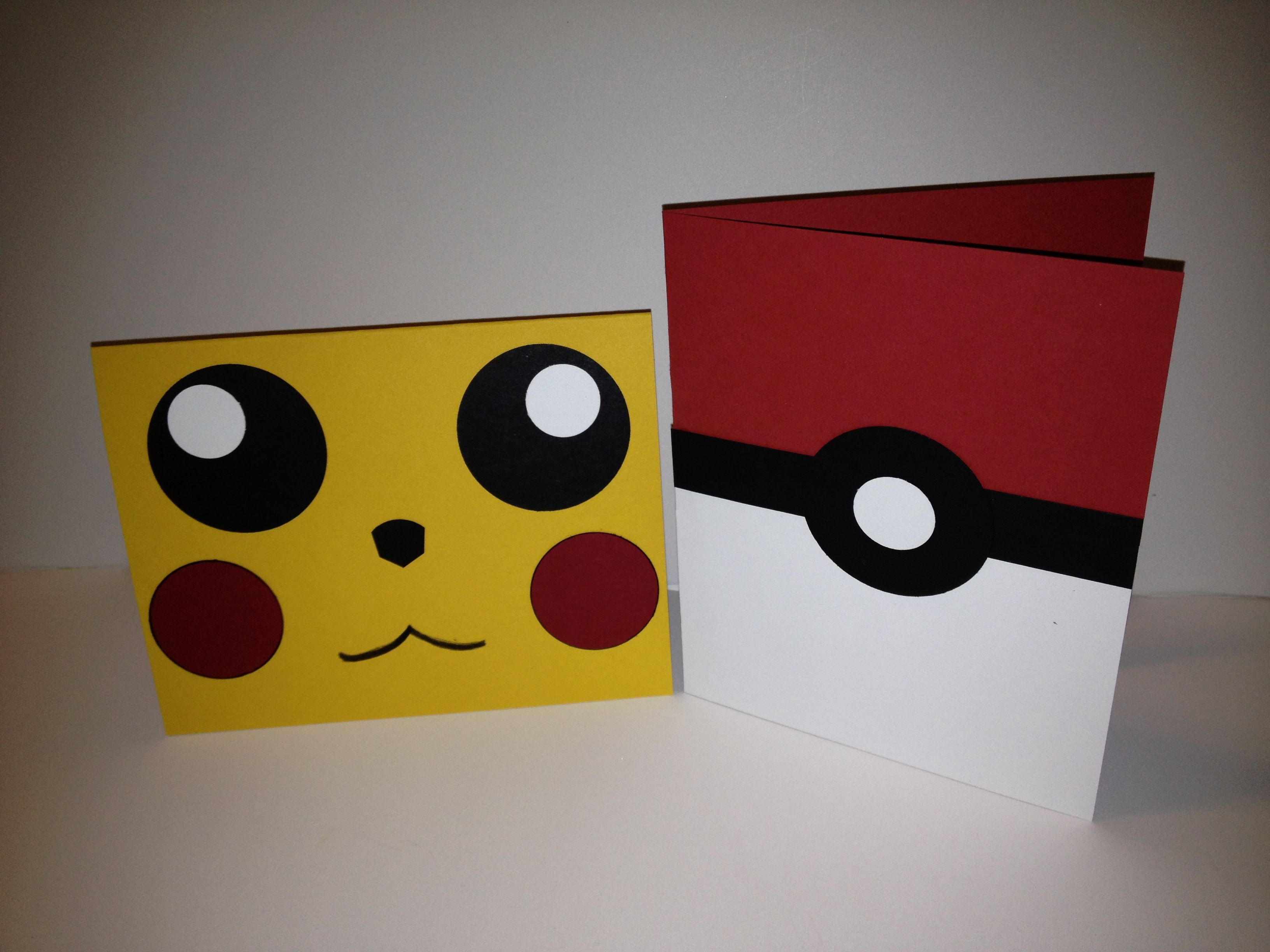 Michelle S Craft Corner Cool Birthday Cards Pokemon Birthday Card Pokemon Invitations