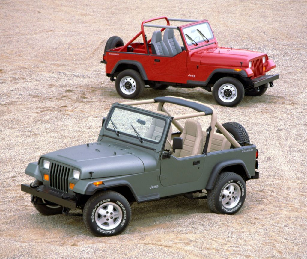 Decoding 1987 To 1995 Jeep Wrangler Yj Vin Numbers Jeep Wrangler Yj