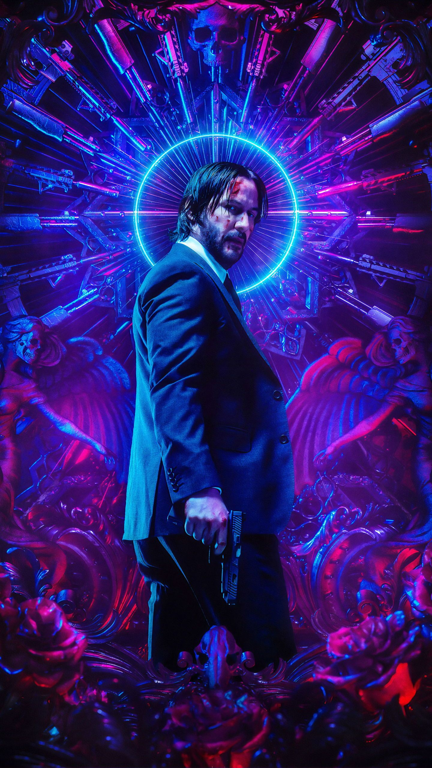 Jhon Wick 3 Wallpaper jhonwick wallpaper poster