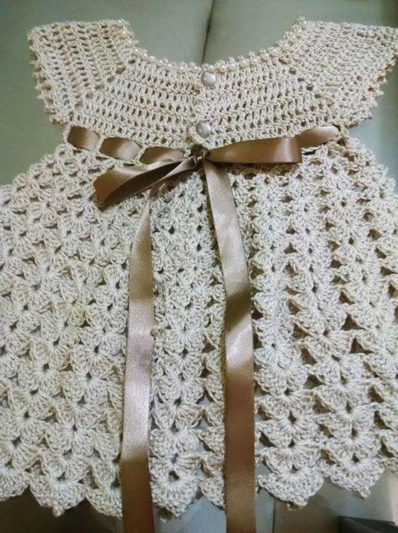 Moda » Separamos 60 Modelos e Gráficos de Vestidinhos de Crochê para as Crianças Que Vão Aumentar as Suas Vendas!