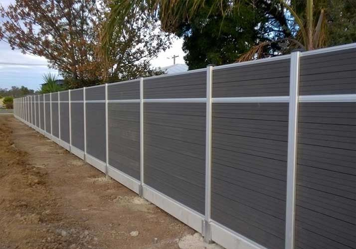 impact resistant wpc fence pvc fence wpc fence pinterest moderne z une z une und. Black Bedroom Furniture Sets. Home Design Ideas