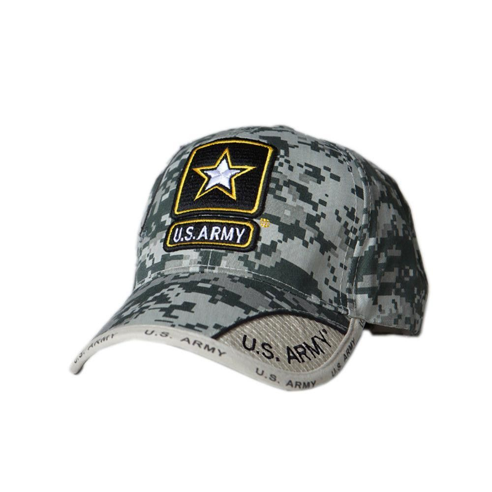 5db6f99a8f26b US Honor Official Embroidered Digital Pixel Camo Army Star Baseball Caps  Hats. This 100% acrylic six panel officially licensed US Armyæcap features  an ...