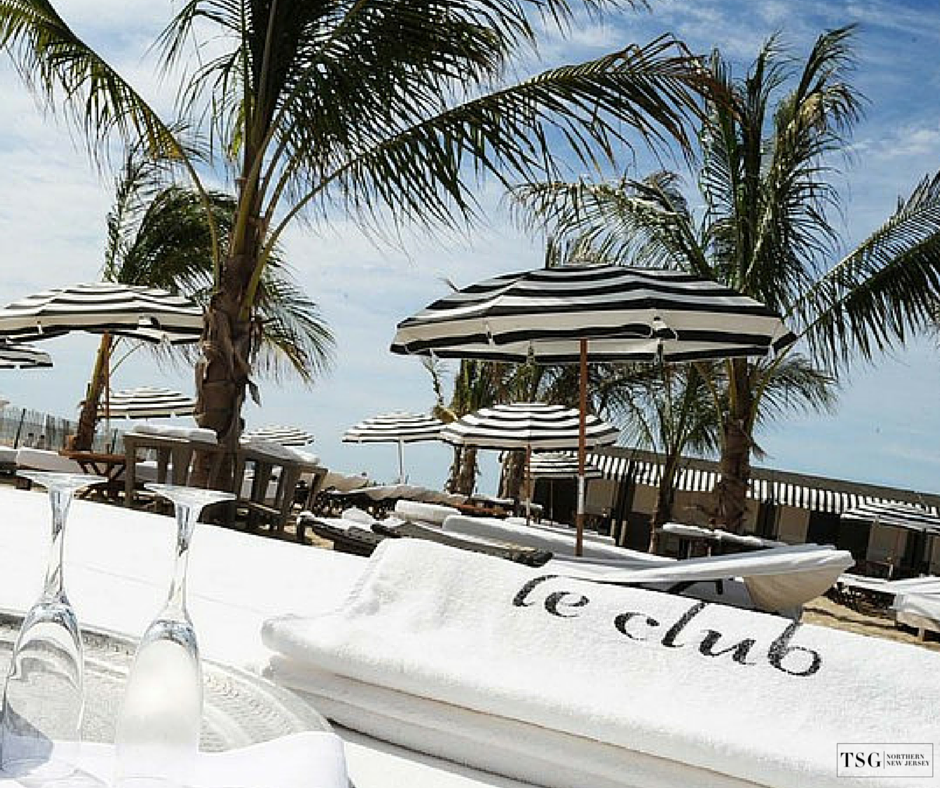 Guests At The Bungalow Hotel In Trendy Long Branch Nj Can Chill Out Avenue Le Club Private Beach