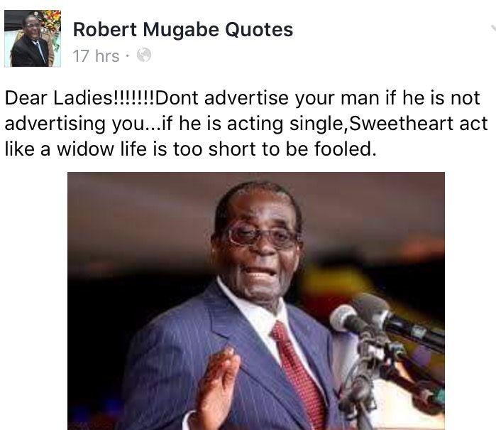 Pin By Goodman On Robert Mugabe Zimbabwe President Mugabe Quotes Empowering Quotes Funny Quotes
