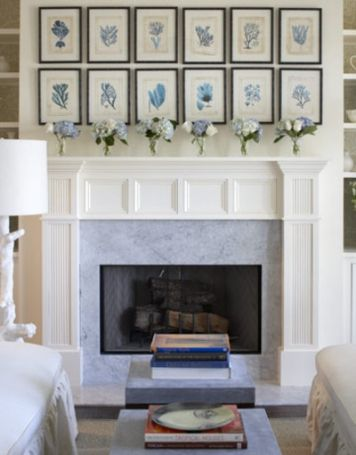 Inspiring Wall Displays Fireplace Design Home Fireplace White
