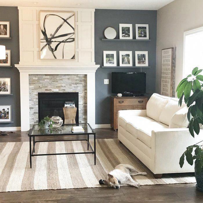 #homelivingroomdecor in 2020   Wall decor living room ...