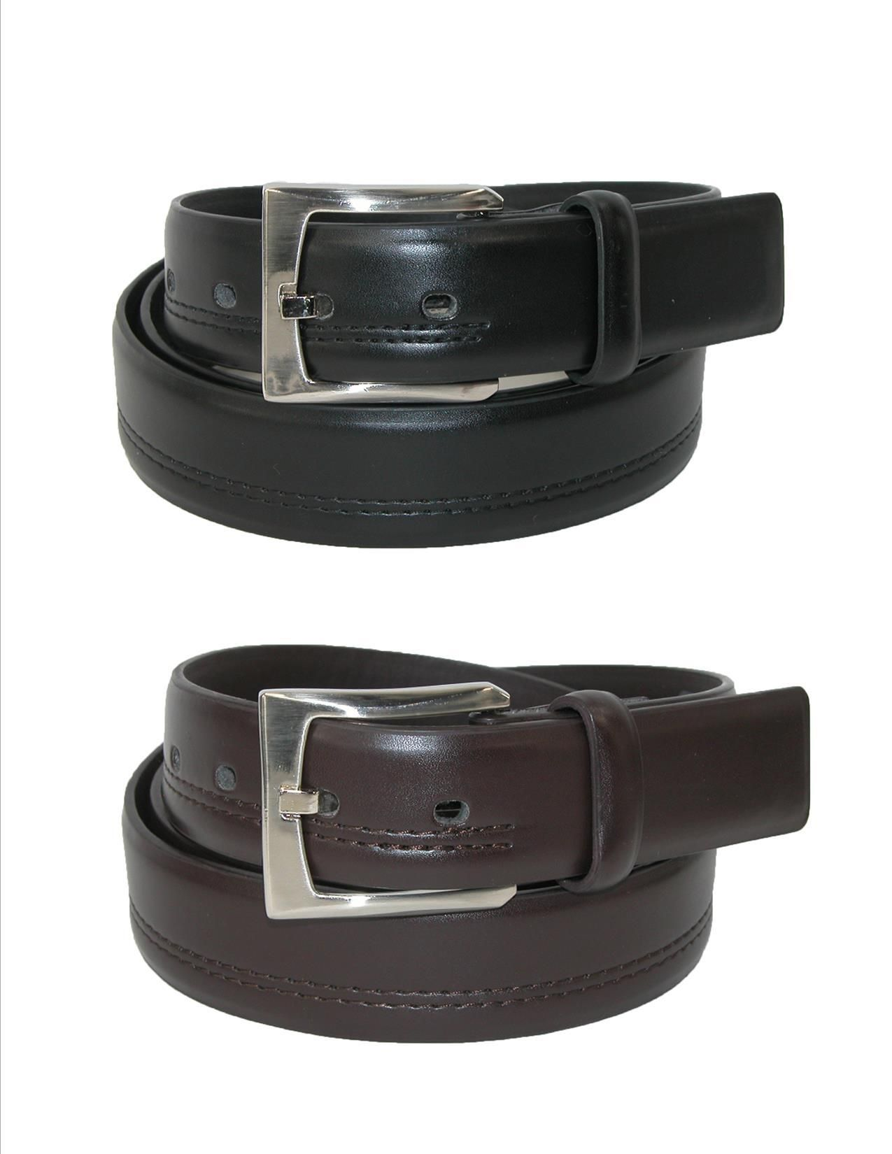 New Aquarius Men/'s Elastic Stretch Belt with Covered Buckle Big /& Tall