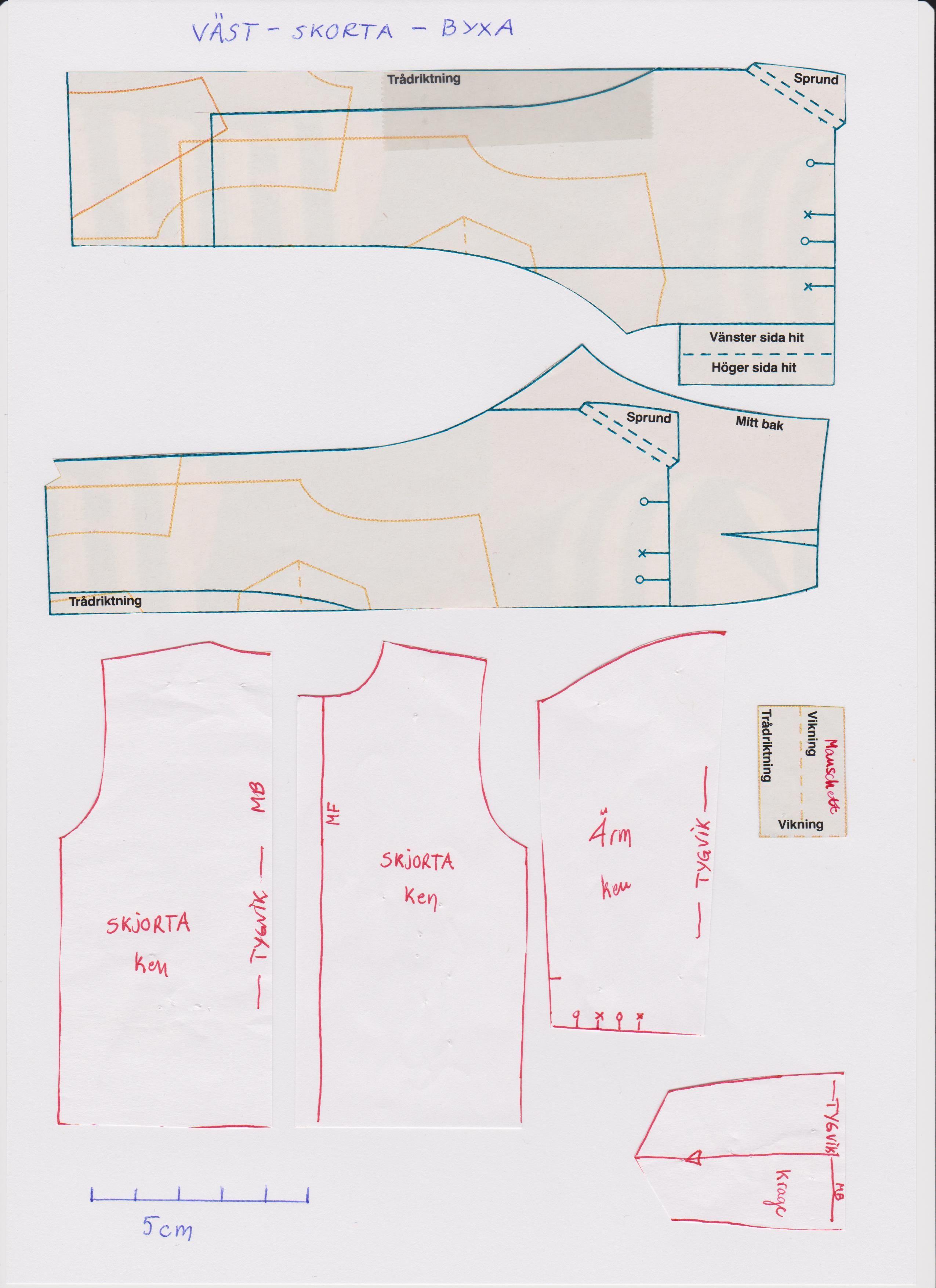 pattern for Ken scan by Caroli | BARBIES | Pinterest ...