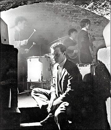 """""""Brian's death was dreadful to everybody. I mean, it was actually shattering. No one could possibly conceive that it would happen and the boys were completely broken up by it. They were like a ship without a rudder for a while...""""-George Martin on the death of Beatles manager Brian Epstein"""