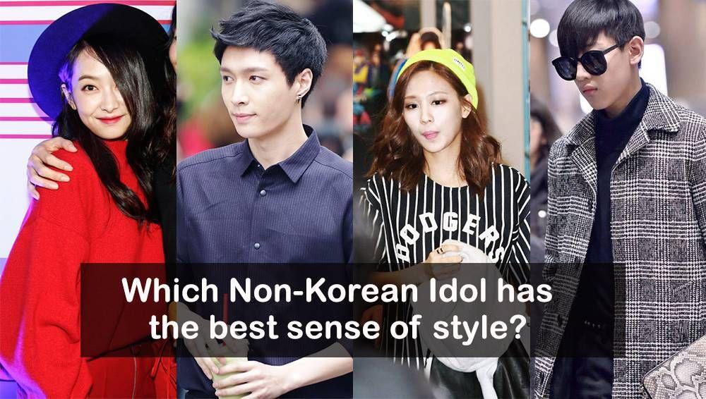 Which Non Korean Idol Has The Best Sense Of Style Korean Idol Style Idol