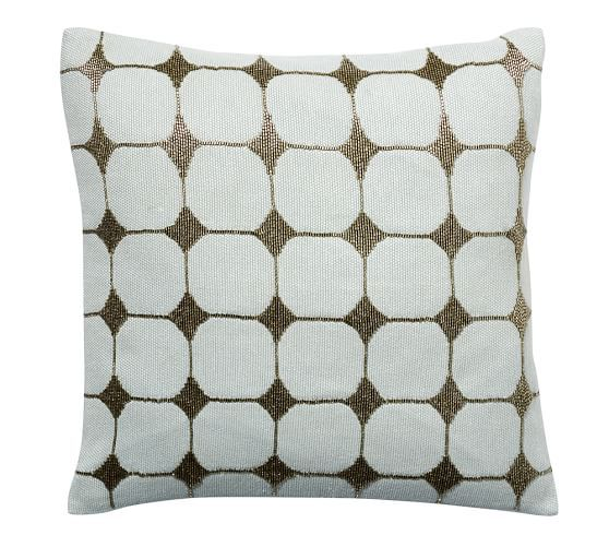 DOT BEADED SCATTER CUSHION COVER