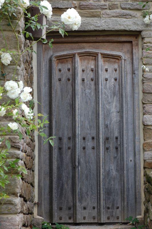 Oak front door for similar door studs and door knocker click below ...