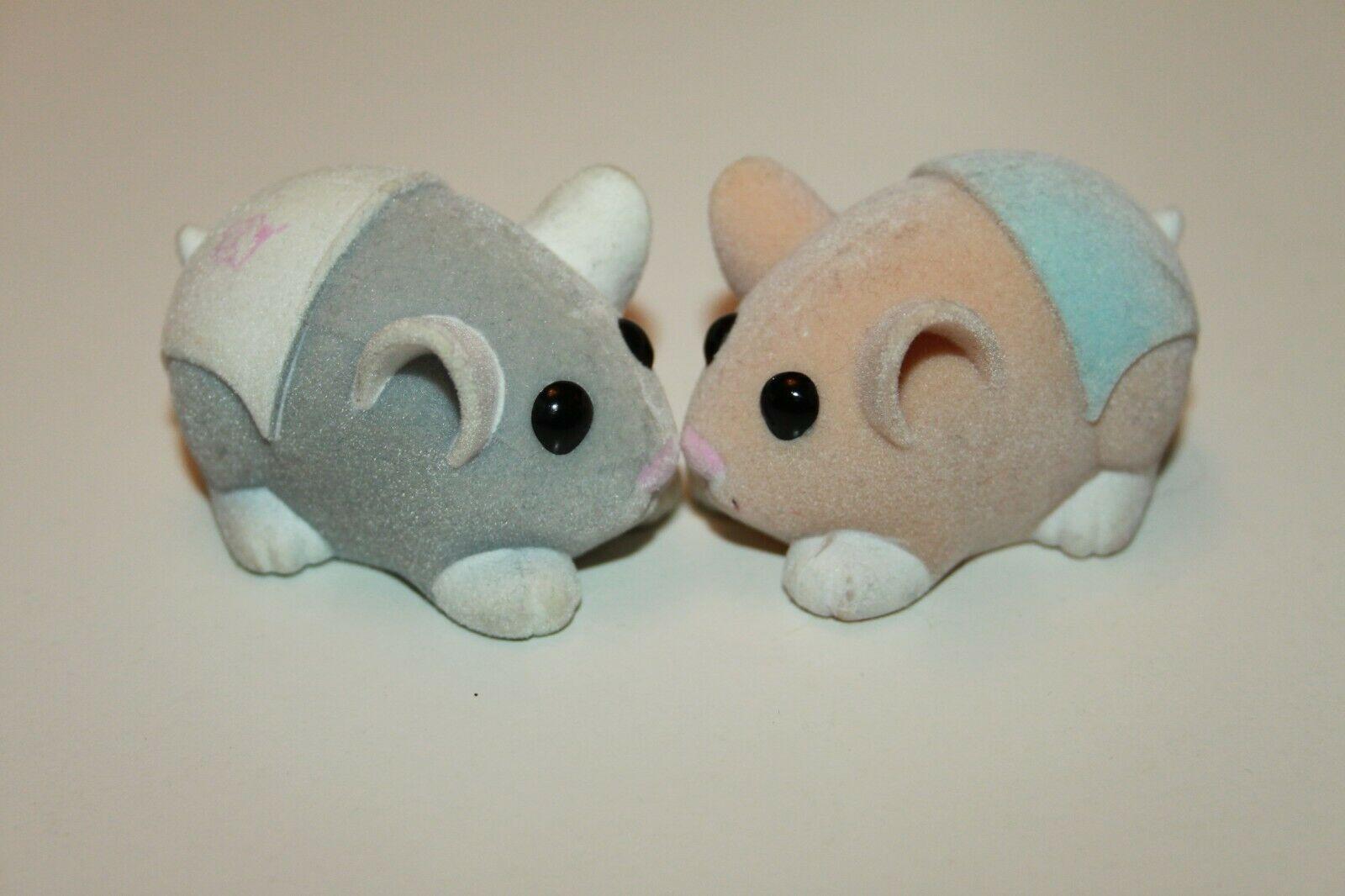 2 X Zhu Zhu Pets Hamster Babies Grey White Diaper Baby Cakes Orange Blue Peanut Ebay Baby Diapers Hamster Diaper