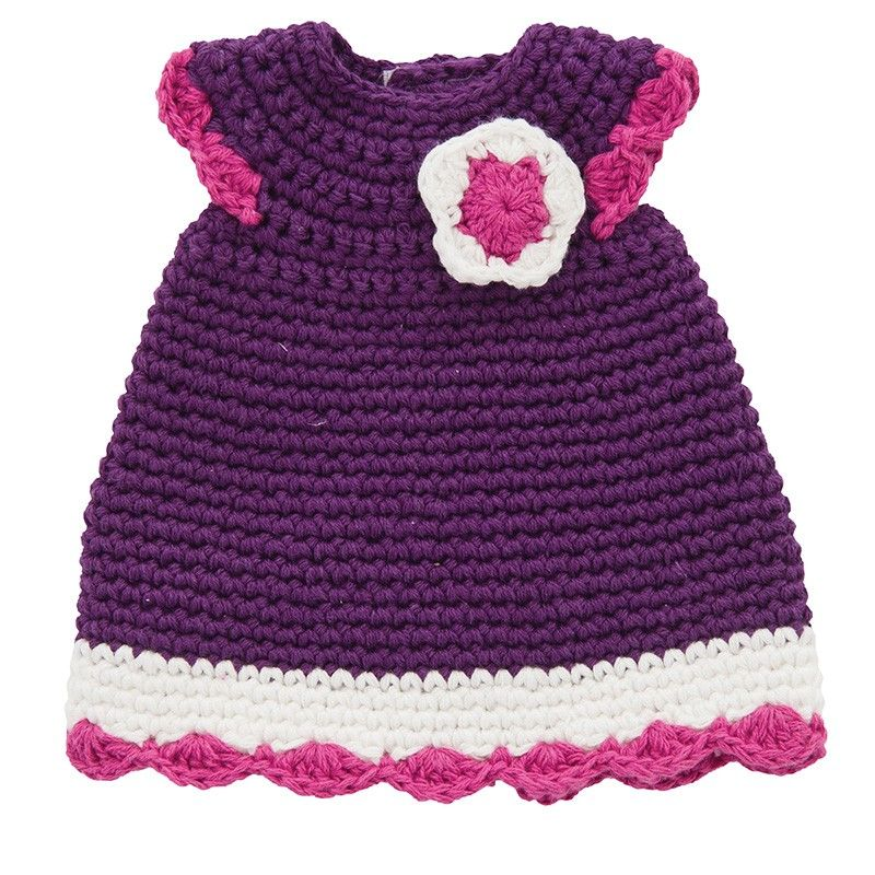 Puppenkleid Puppenkleidung Crochet Doll Dress Dolls Und Crochet