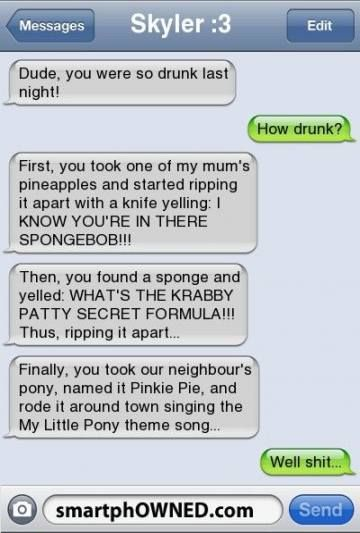 17 Trendy Funny Messages Drunk Night