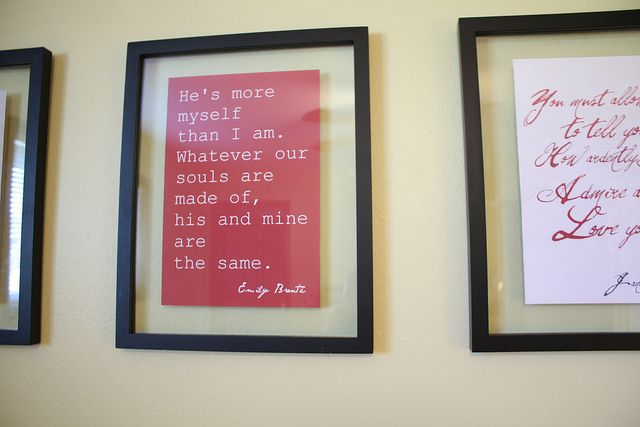 He's more myself than I am. ~ Emily Bronte.  Blog post by Dreadlock Girl