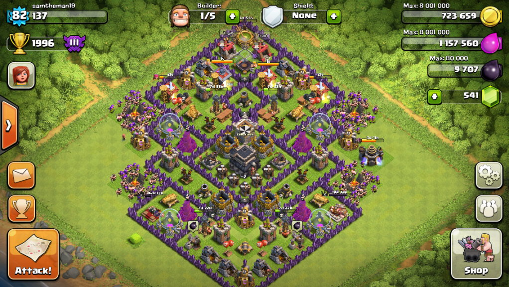 Town Hall Level 9 Bases Google Search Clash Of Clans