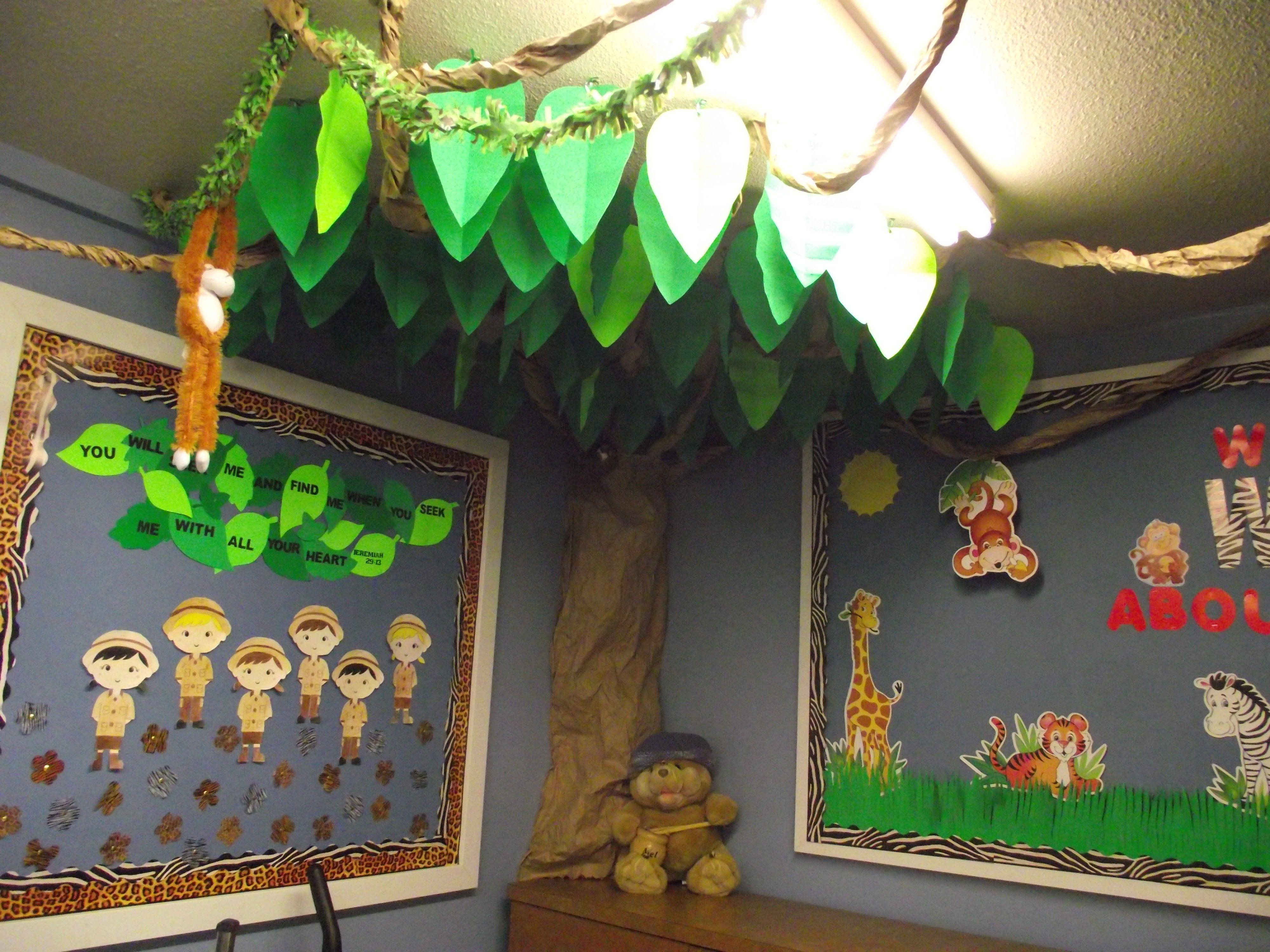 Homemade Jungle Decorations Crazy Homemade