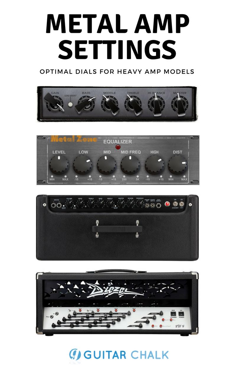 The Optimal Metal Amp Settings Guitar Chalk Amp Settings Acoustic Guitar Chords Guitar