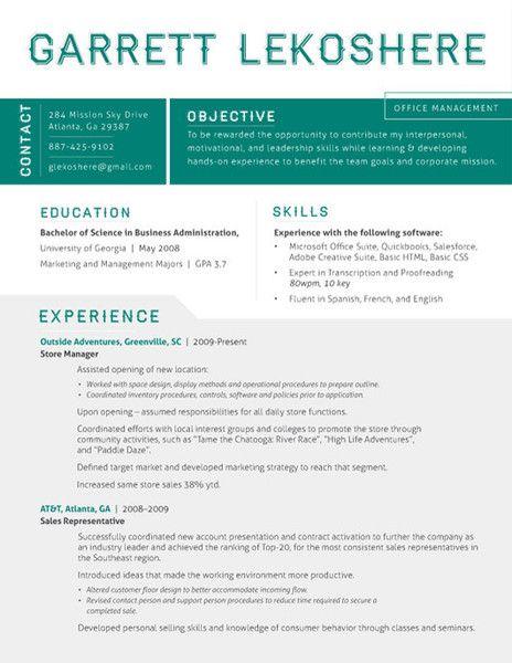 killer resume Money Pinterest Resume, Resume templates and